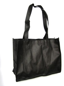 BAG TOTE ECO SHOPPING WIDE BK