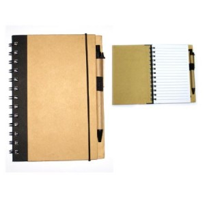 ECO FRINDLY SPIRAL NOTEBOOK