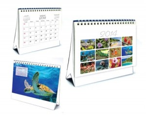 FULL COLOUR TENT CALENDAR