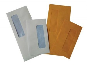 Opaque Window Envelopes