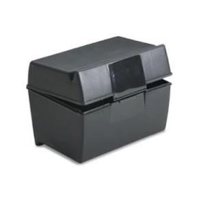 Oxford plastic index card box 3x5