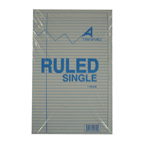 Ruled Single Line Paper