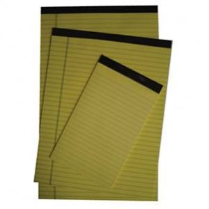 Scholar Yellow Perforated Pads