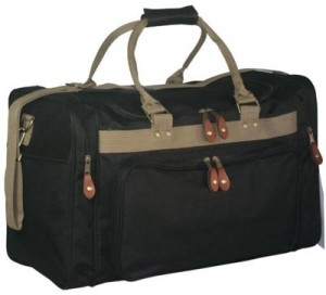TWO TONE DUFFLE
