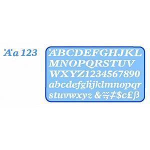 Helix 20mm Italic Stencil