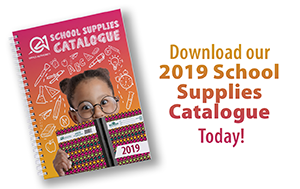 Download our 2019 School Supplies Catalogue Today!